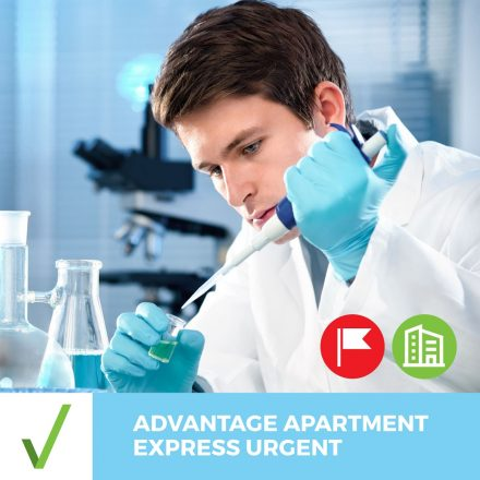 ALL CLEAR ADVANTAGE APARTMENT EXPRESS URGENT – Results Next Business Day
