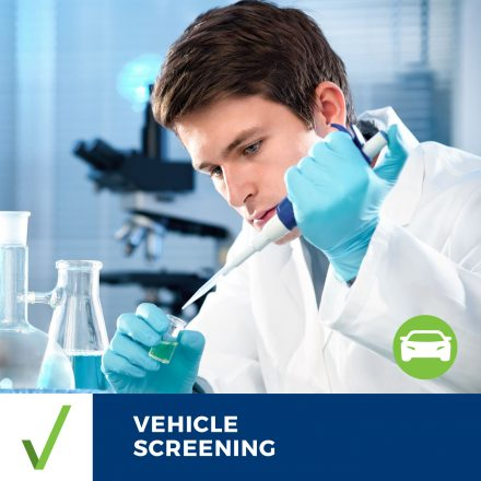 ALL CLEAR VEHICLE SCREENING – Results Within 2 Business Days