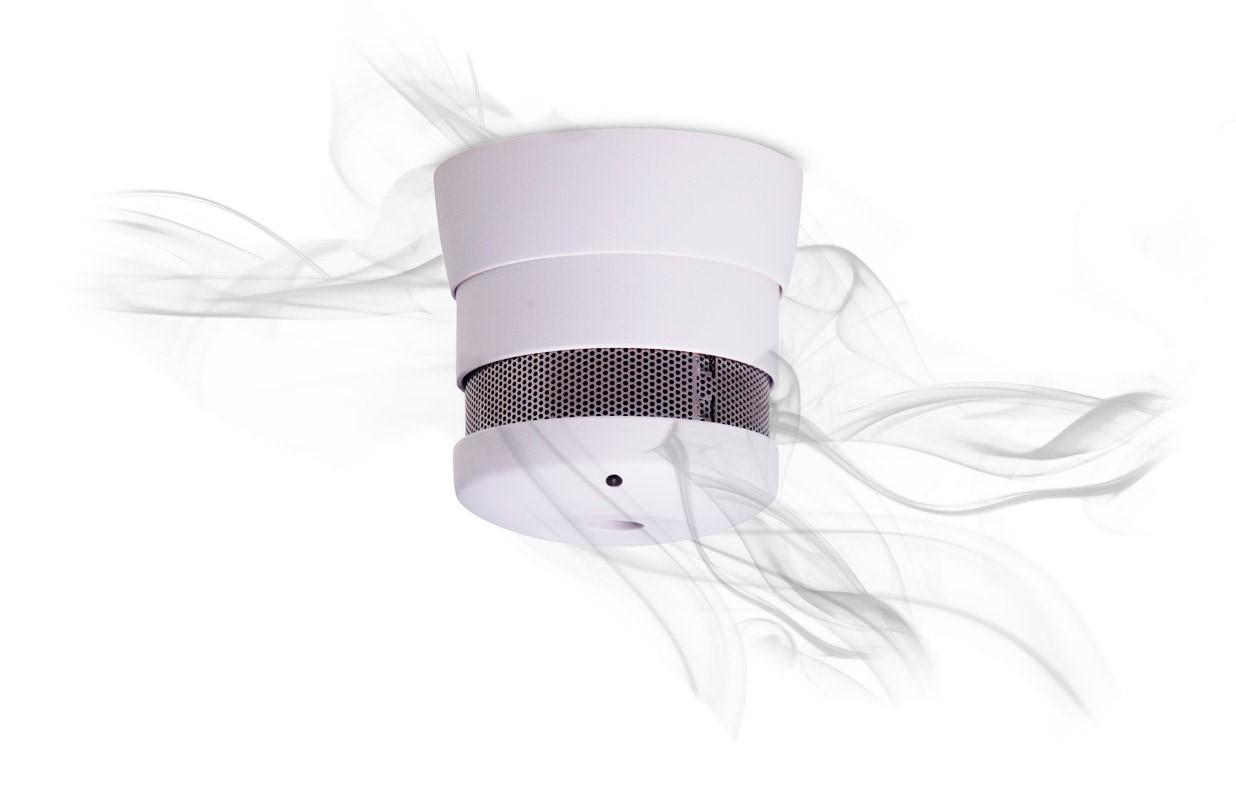 10Y smoke alarm with smoke